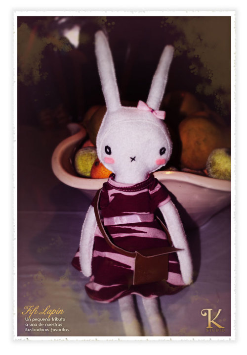 A tribute to fifi lapin made by Studio K