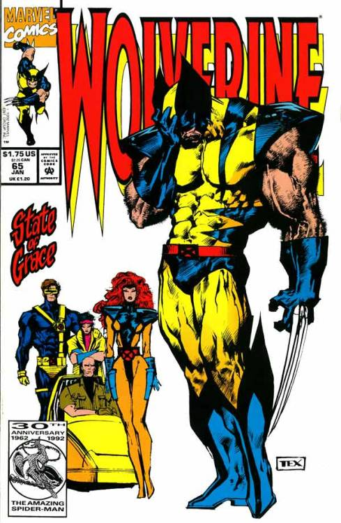 0943. Wolverine v2 #65, January 1993, written by Larry Hama, penciled by Mark Texeira My Score: 8.3