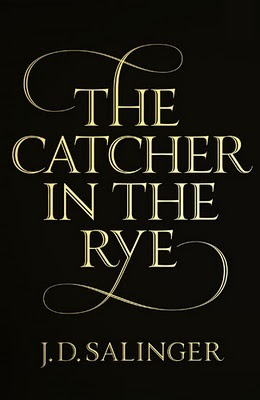 the catcher in the rye, j.d. salinger: penguin. _it was a strict requirement from j.d. salinger that his books covers could only include the title, his name, and nothing else. that's why the brazillian version is so lame. that's also why this penguin version is so beautiful.