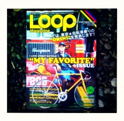 Loop Magazine issue #6  Finally found a copy of the newest issue of Loop Magazine. For those unfamiliar, it is a Japanese magazine that covers mostly track bikes, but also all other forms of cycling are represented. Basically bike porn. Also I wish I would have known about the 1 year anniversary party on the 16th. Ugh. Happy birthday guys! You must learn