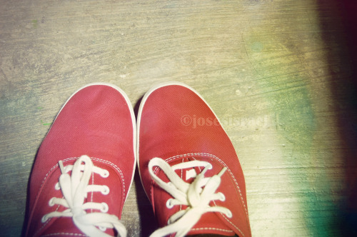 A picture of my Keds! Hahaha sorry, just feeling self-centered now.