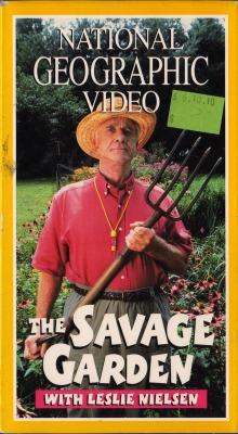 vhscoverjunkie:  The Savage Garden with Leslie Nielsen (1997)  I'll be your dream I'll be your wish I'll be your fantasy…