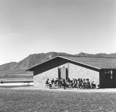 Sunday School, A  Church in a New Tract, Colorado Springs, 1970 - Robert Adamsvia