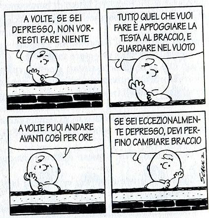 Charlie Brown, Depressione