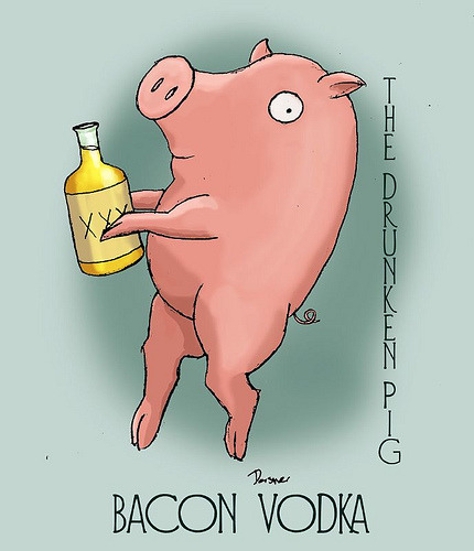 Huh. We'd always wondered how Bacon Vodka is made… via pepperminttoads: dabbed.org
