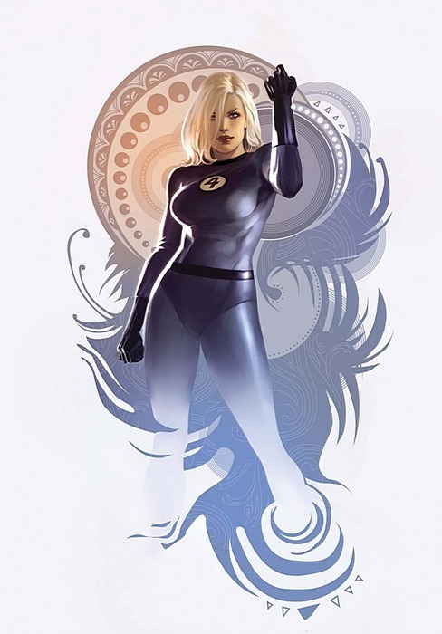 alexxrawrr:  Sue Storm is my favourite member of the Fantastic Four.Quite simply because she's so badass.