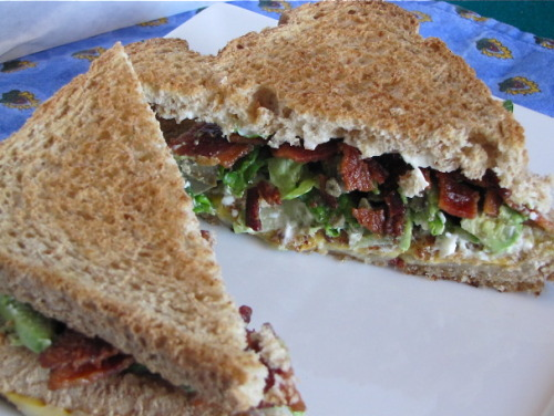 Bacon Avocado Grilled Cheese Sandwiches – Tasty Kitchen We can't tell you how good this looks right now
