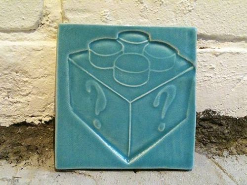 roomthily:  tile from the Pop-Up Shop by Pascale Girardin via MocoLoco