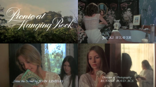 Picnic at Hanging Rock (Peter Weir - 1975)