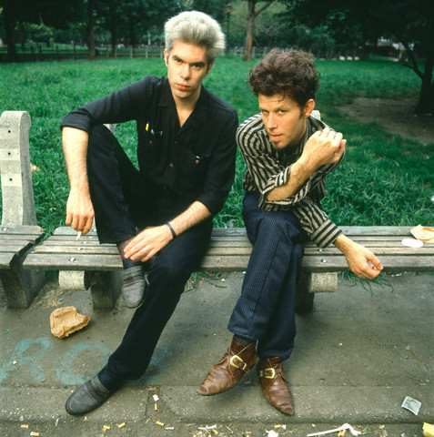 hello-zombie:  ragstostitches:  lucyphermann:  theplanetofsound: Jim Jarmusch & Tom Waits by Deborah Feingold   HEROES