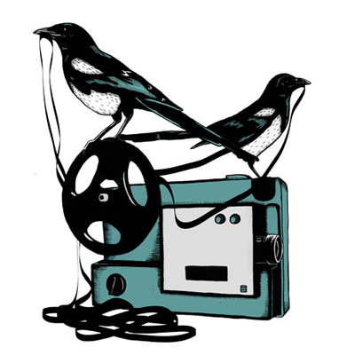 look-e-here:  Birds on Tape by Jon Owen