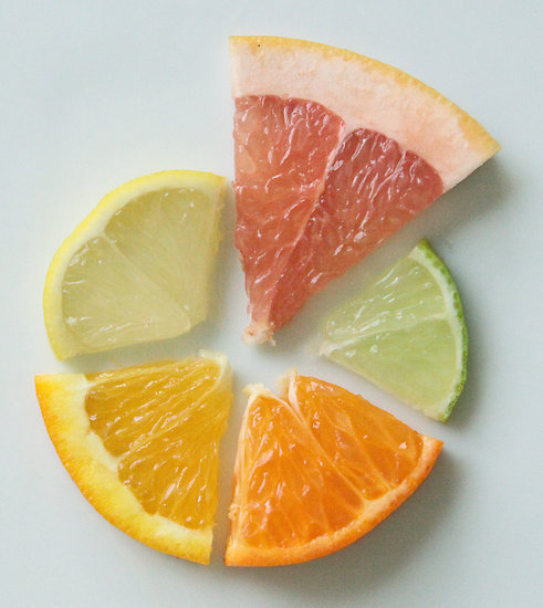 ilovecharts:  The Citrus Chart via Saki  Encontrado vía Fotomat