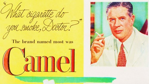 "newsweek:    1951.  ""More Doctors Smoke Camels"": Today in Things We Suspect Are Still True…"