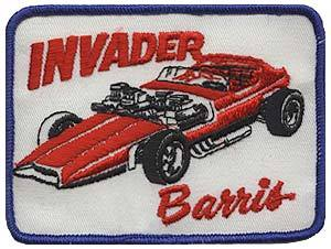 Vintage Barris Kustom Industries patch from Barris.com. via Dinosaurs & Robots