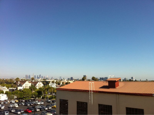 Gorgeous day in LA today.