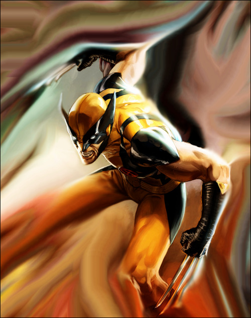 geek-art:  spartan147:  Wolverine by Marko Djurdjevic. via lebeauclan:fuckyearogue