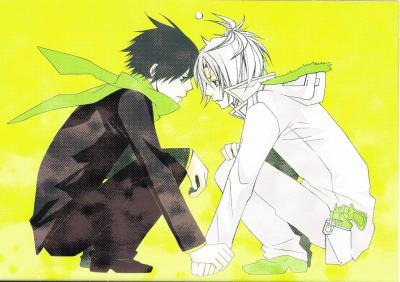 Hibari x Gokudera, I've never scene this pairing before :]