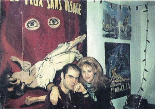 Chris and Julie at home circa 1986