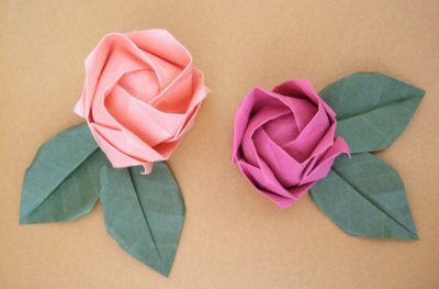 feeling crafty today? try out these adorable paper flowers [roses]! [source: bloomize]