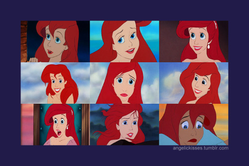 DAY 17: Best eyes Ariel honorable mentions: Aurora Jasmine