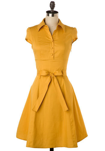 Soda Fountain Dress in Ginger $45 on Modcloth