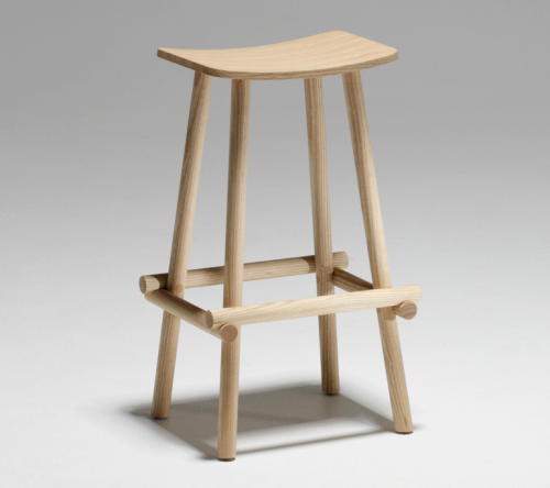 From New Zealand to NYC > NZ industrial designer Jamie McLellans Lumber Stool for Fletcher Systems.