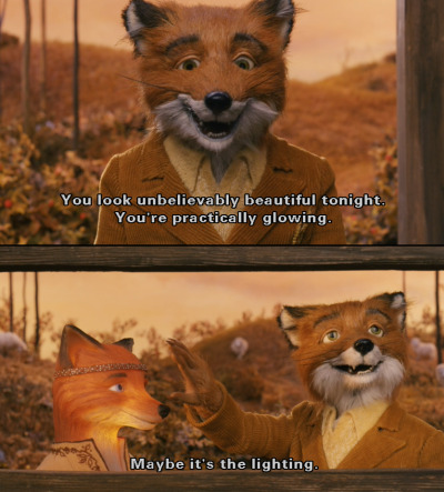 oldfilmsflicker:  the-totem:creativehughorror:(via movieoftheday) he's so foxy. har har har.