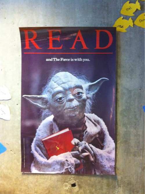 The Las Vegas Public Library has a great collection of classic READ posters.
