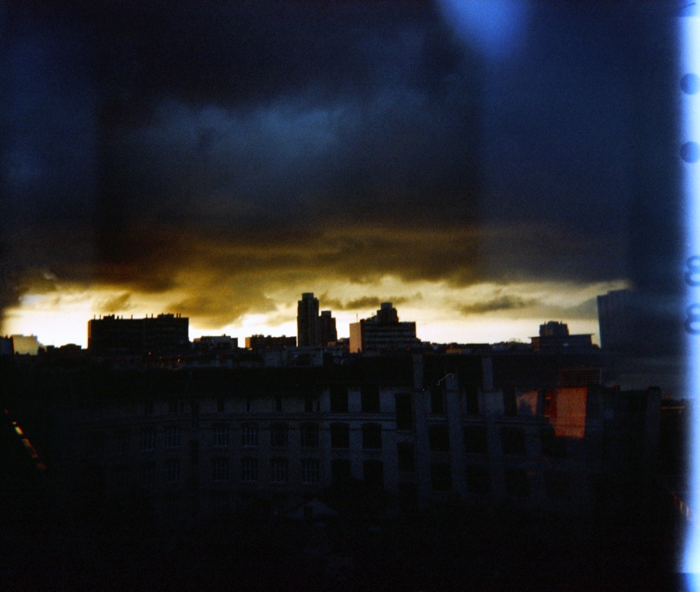 istillshootfilm:  Apocolyptic Sunset Part I | Shot with a Woca | Cross Processed Fuji Provia 1—F
