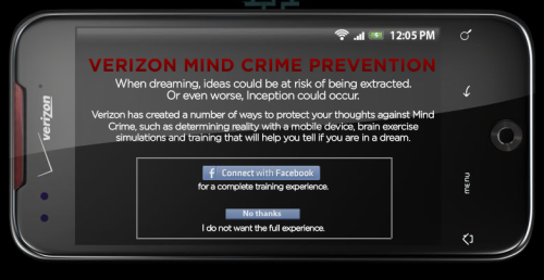 Verizon has created a number of ways to protect your thoughts against Mind Crime…