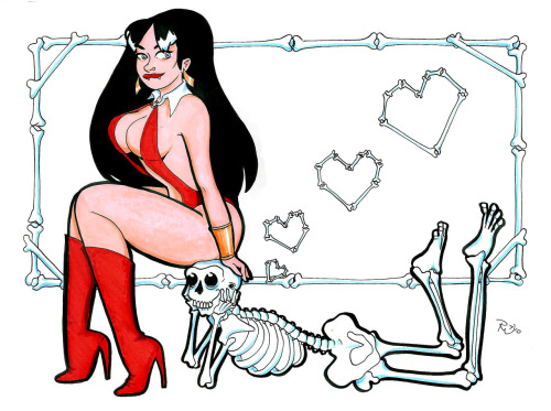 Vampirella and a Friend
