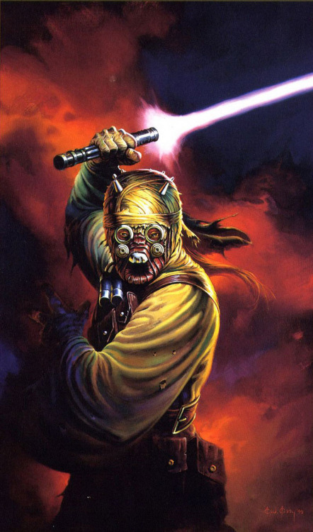 Sharad Hett the Tusken Raider leader by CW