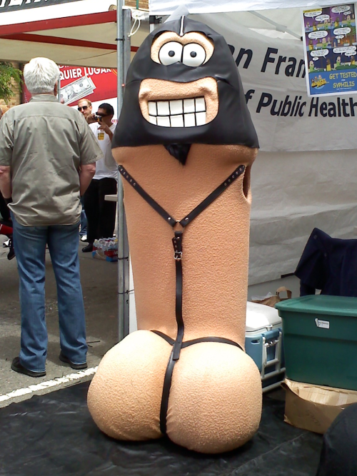 The Healthy Penis all dressed up for Dore Alley 2010 last weekend