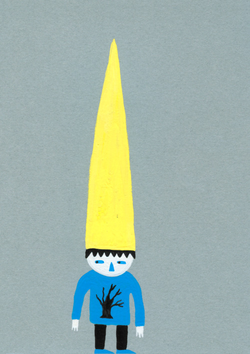 marukido:  choccoto:  Very Tall Hat (Sold!) (via imakethings)