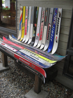 Hopeless Repurposing of Old Skis