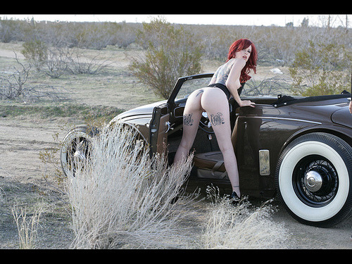 princesspolysemy:  CAR!!!!!!! libraryvixen:  white wall by ed fox