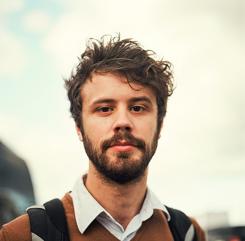 thesoundandthefurry:   Michael Angelakos of Passion Pit.  The Deluxe Edition of Manners is out now.  (by kjten22)