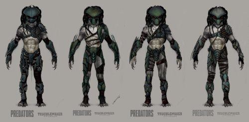 Predators concept art by Alex Toader Click for higher-res