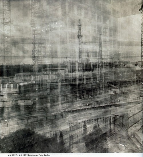 Photograph Time! by Michael Wesely