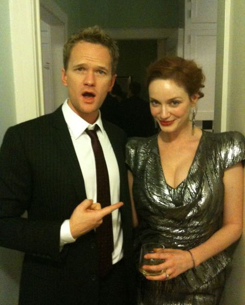 Neil Patrick Harris & Christina Hendricks