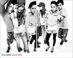 "Tayane Leão for AE Jeans  F/W 10 (Photography: Nagi Sakai) Ford's Tayane Leão features in the AE Jeans F/W 10 campaign by creative director Roi Elfassy for Blackrose, photographed by Nagi Sakai, and styled by Matthew Ellenberger.  The 5'10"" (178 cm) Parauapebas Brazilian native lands her first major campaign on the heels of a fine Resort 2011 season featuring for Rag & Bone, Vera Wang, and Carolina Herrera and was a featured new face on Vogue.it at the beginning of July.  Having enjoyed a summer holiday with friends and family in Brazil Tayane is looking forward to a brilliant show season in September — and so are we."