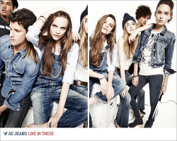 Tayane Leão for AE Jeans  F/W 10 (Photography: Nagi Sakai)