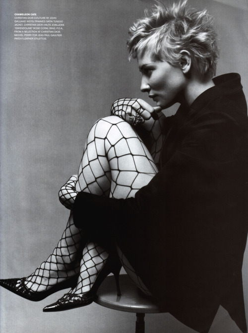 bohemea:  Cate Blanchett - Vogue Australia, May 2001