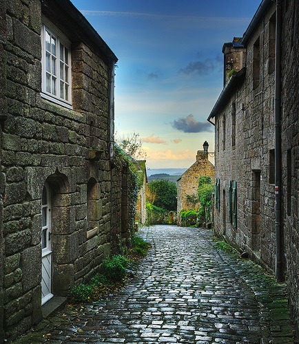 Locronan, Brittany, France via David Giral