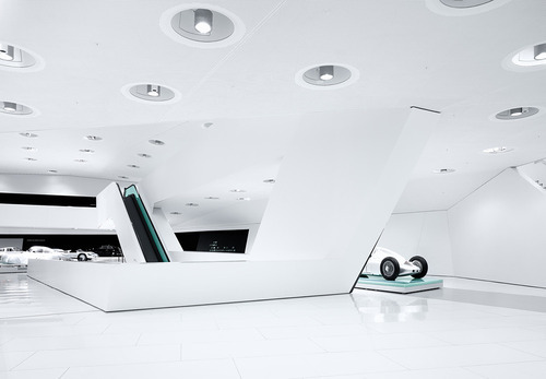 porsche museumdesigned by austrian architects delugan meisslphotographies by michael schnellstuttgart, germany+: 5osa