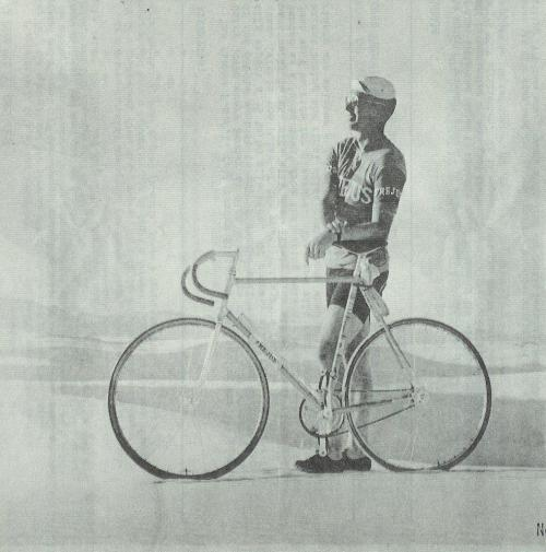One more treat for the weekend.  From a 1970's issue of The Pedal Pushers Chronicle.  Amazing…  Found on Douglas Siple's Flickr.