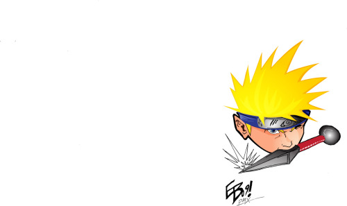 naruto by Eugene Booker, colors by me