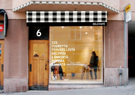 via Remodelista:   Hotels, Lodging & Restaurants: Sis Deli + Cafe in Finland