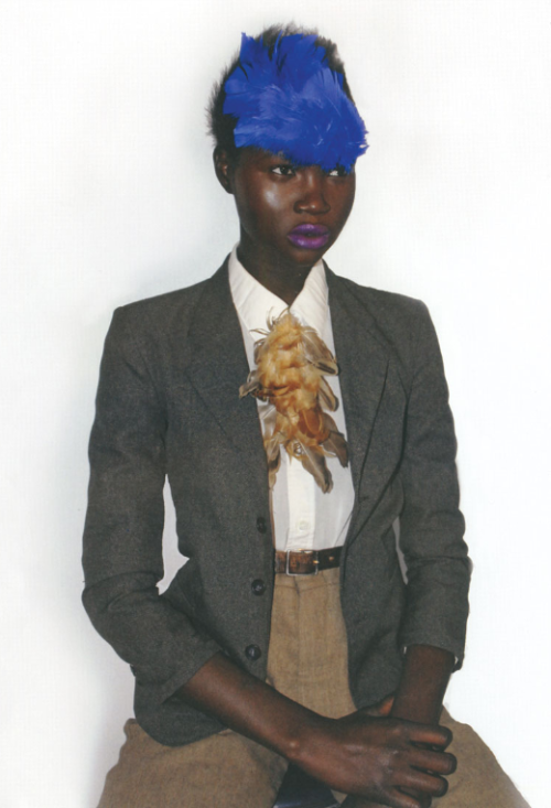 laeticia:  Ataui Deng in POP'Africana,Issue 1.  (via fuckyeahethnicmodels)