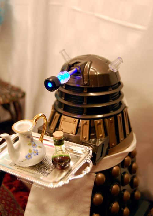 Servile dalek … as if! (title unknown)